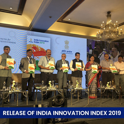 Release of India Innovation Index 2019