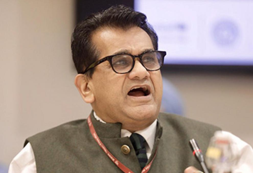 Amitabh Kant, CEO of NITI Aayog